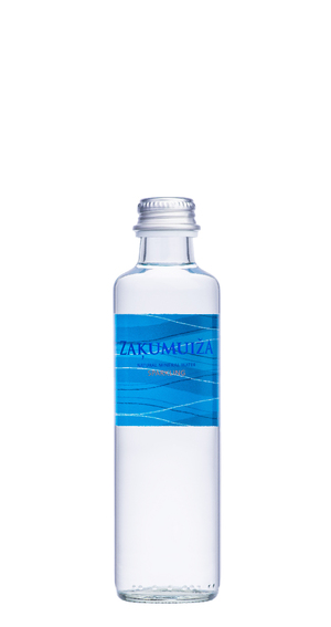 Natural mineral water, 0.25L glass bottle, carbonated