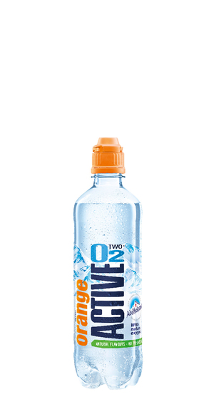 Active O2 Orange Lemon Natural 0.5 L