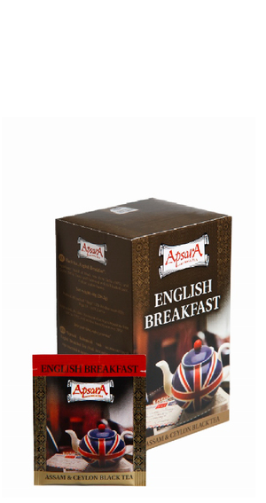 English Breakfast чай Apsara, в пакетиках